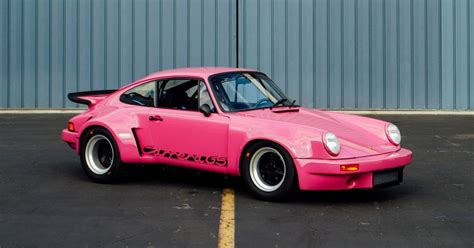 pink porsche 911 this pink 911rsr is a fully custom factory