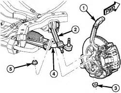 2006 Chrysler 300 Tension Strut Repair Guides Front Suspension Tension Strut