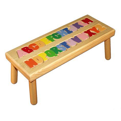 alphabet puzzle stool damhorst toys puzzles inc store