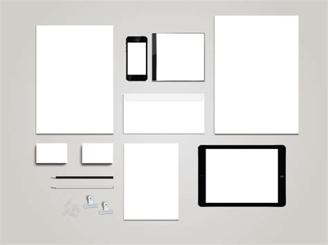 mockup templates free blank stationary template mockup themzy templates