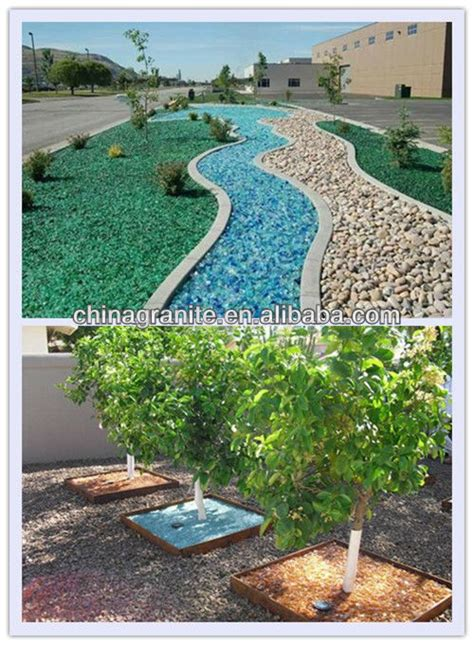 Landscape Rock Recycling Recycled Landscaping Slag Glass Rocks Buy Recycled