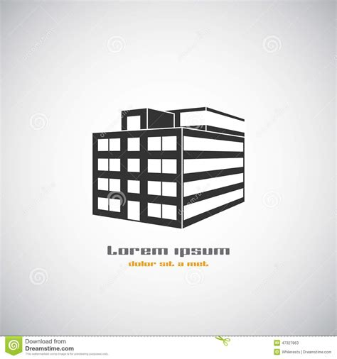 modern home design vector abstract architecture building silhouette vector logo