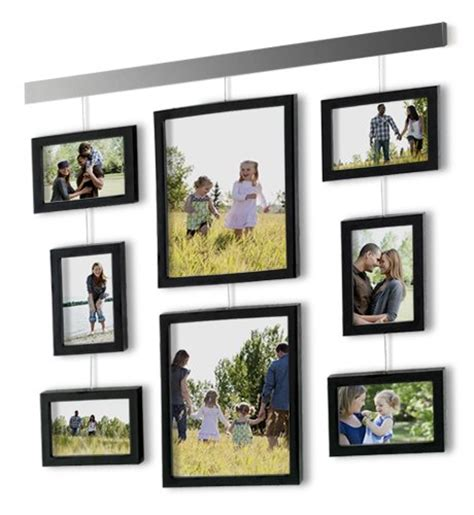 Picture Hanging Template Kit by Picture Frame Wall Set 9 Hanging Bar Family Photo