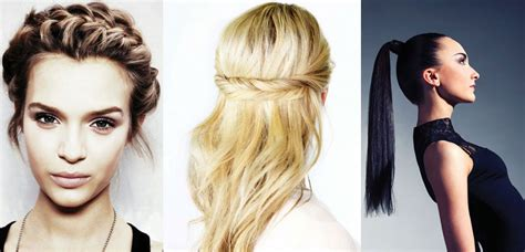 hairstyles for long hair to sleep in 5 easy weekday hairstyles beauty style magazines