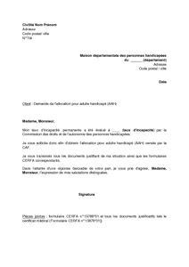Lettre De Motivation Pour Visa étudiant Belgique exemple gratuit de lettre demande allocation adulte