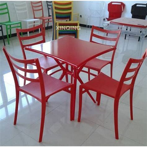 Plastic Dining Table And Chairs Plastic Table With Chairs Best Home Design 2018