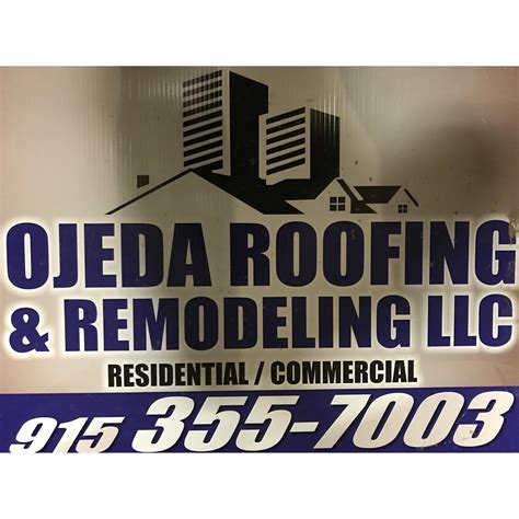 lone roofing and construction reviews ojeda s roofing and remodeling el paso tx