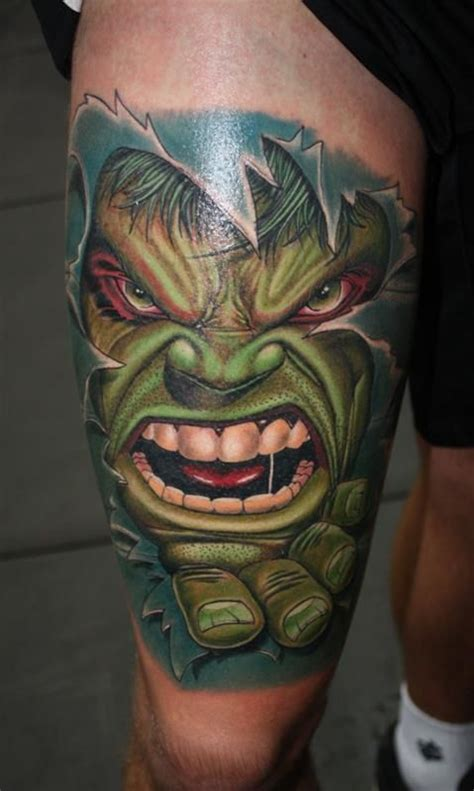 hulk tattoos tattoos awesome