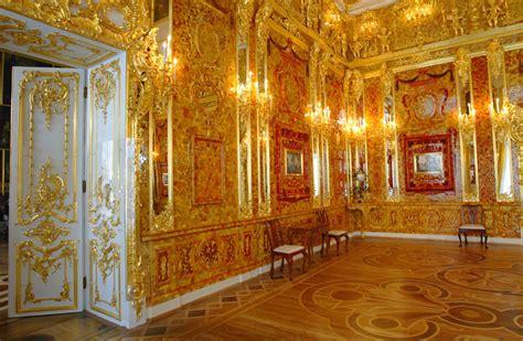 chambre ambre la fameuse chambre d ambre des tsars serait dans le