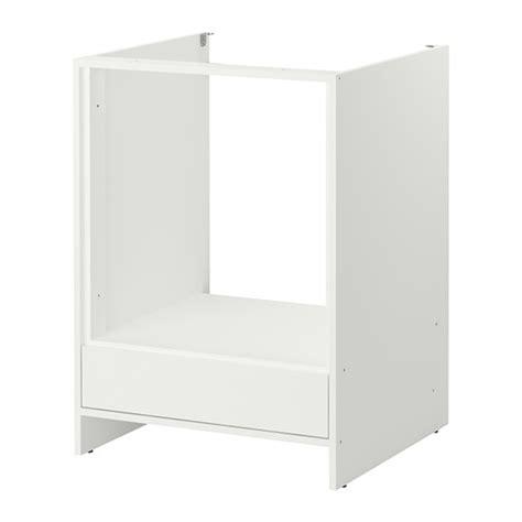Ordinaire Meuble Pour Four Encastrable Ikea #2: fyndig-element-bas-pour-four-blanc__0149033_PE307555_S4.JPG