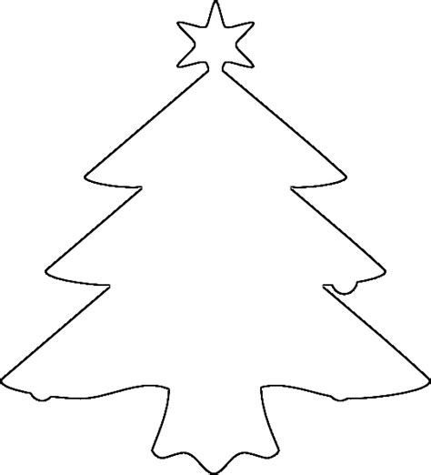 clip art christmas tree outline clipart panda free