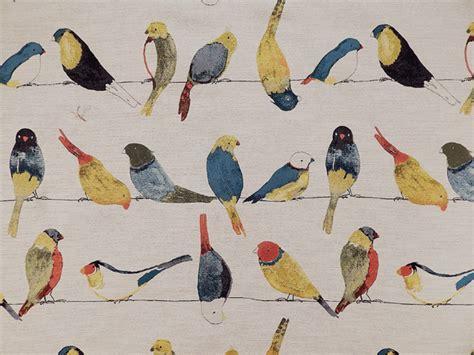quail pattern fabric tfa early birds multi tfa early birds early birds multi