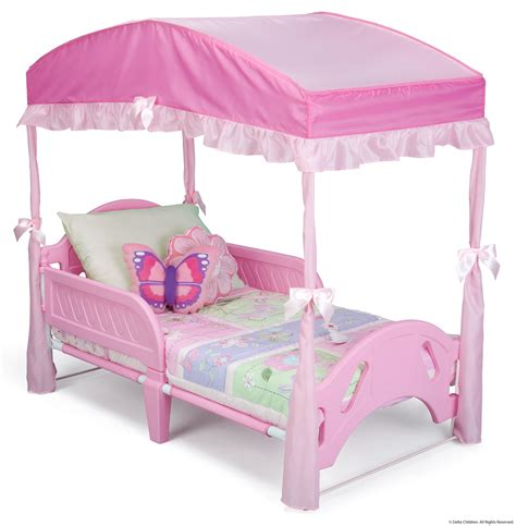 pink toddler bed canopies minnie mouse toddler bed with canopy