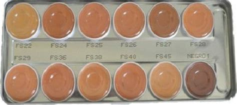 Kryolan Supracolor Foundation kryolan supracolor palette 12 colors fs foundation price
