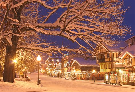 holiday place 10 christmas loving towns in the u s the radio city