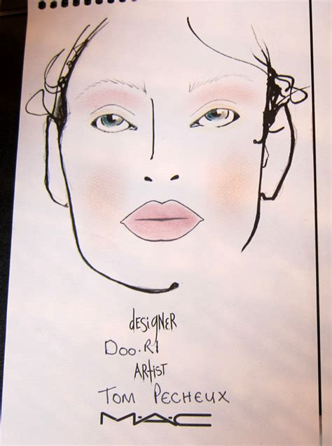 Backstage With Tom Pecheux At Doori by Make Up Artist Magazine S Backstage Look At The 2012