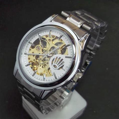 Grosir Jam Tangan Quicksilver Cisero Rantai Silver Plat Hitam Qs0 toko jam tangan di jogja jam tangan jogja menjual