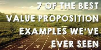 7 of the best value proposition exles we ve seen