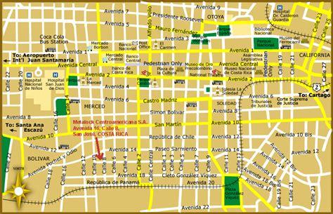 san jose road map san jose map