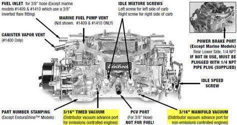 edelbrock 8867 diagram ported vs manifold vacuum