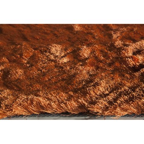 burnt orange shag rug luster orange shag burnt rug wayfair