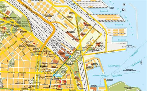 mapa america buenos aires mapas de buenos aires argentina mapasblog