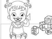 baby hazel coloring pages baby hazel coloring play the baby game online