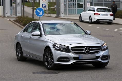 Mercedes In Germany by 2017 Mercedes C Class Facelift Spied In Germany