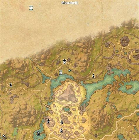 deshaan treasure map deshaan treasure map iii location eso