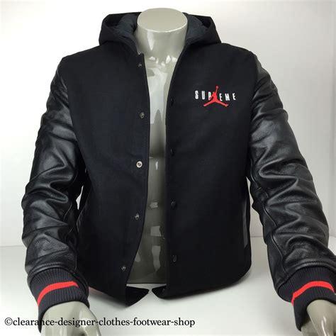supreme jacket hooded varsity baseball jacket nike