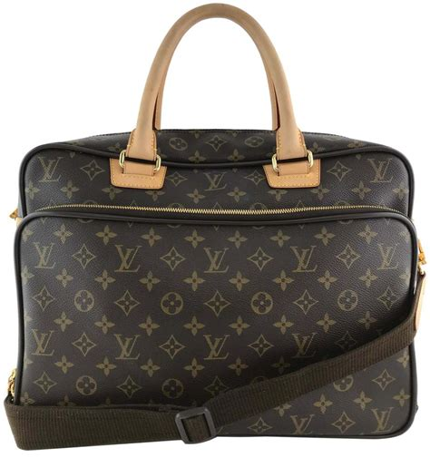 louis vuitton icare computer brown monogram canvas