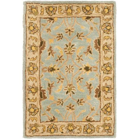 Safavieh Heritage Light Blue Beige 3 Ft X 5 Ft Area Rug Safavieh Heritage Rug