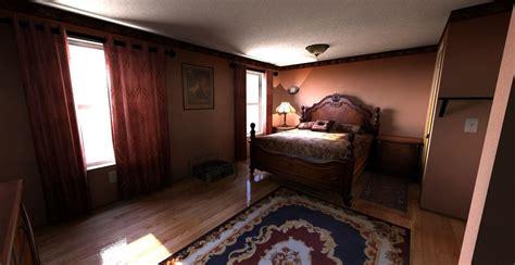 Bedroom 3d Max by Bedroom 3d Model Max Cgtrader