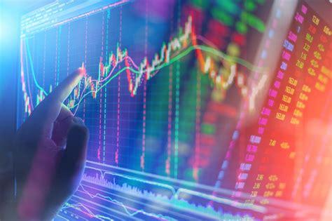 graficos del mercado de valores en gr 225 fico del mercado de valores financieros de la pantalla