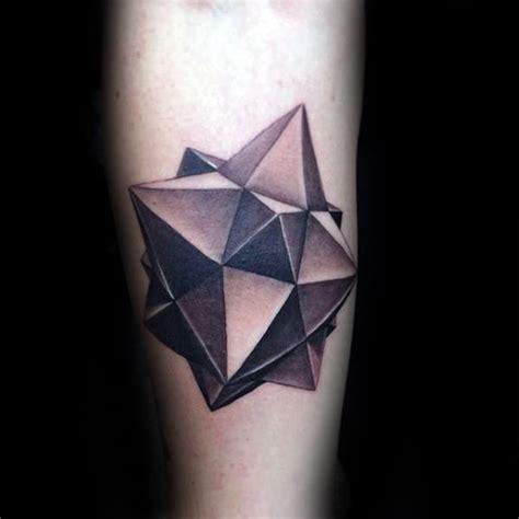 tattoo 3d geometric 50 3d forearm tattoos for men three dimensional design ideas