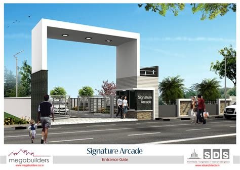 Modern Duplex Plans project view 1bhk signature arcade megabuilders