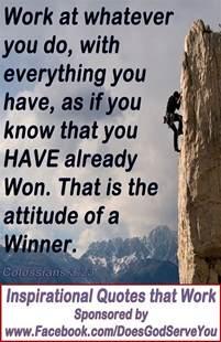 Winning Attitude Quotes. QuotesGram