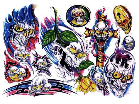 tattoo flash color colour flash tattoo design img28 171 coloured 171 flash tatto