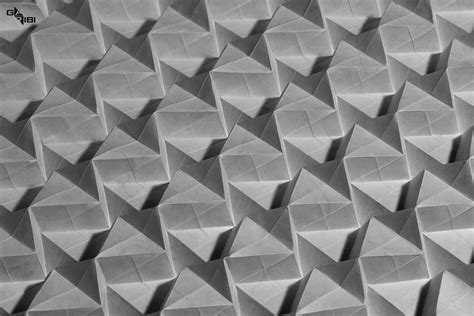 Origami Tessellation Diagrams - 25 awesome origami tessellations that would impress even m