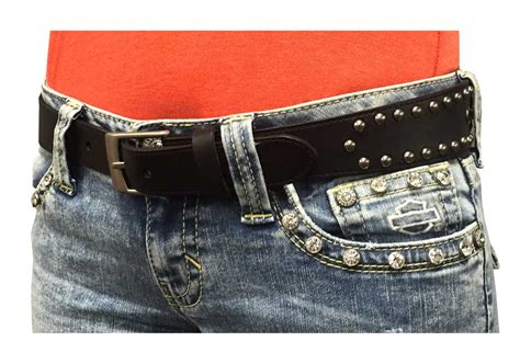 harley davidson s cinched studded belt genuine