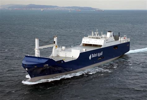 Shipping A by Bahri Takes Delivery Of Its Third Roro Ship From Hyundai