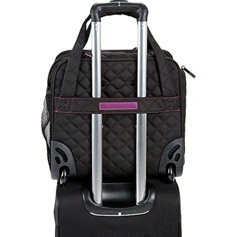Exclusif Backpak Tas Exclusif Unisex Rhinoceros delsey quilted rolling underseat tote exclusive teal luggage bags