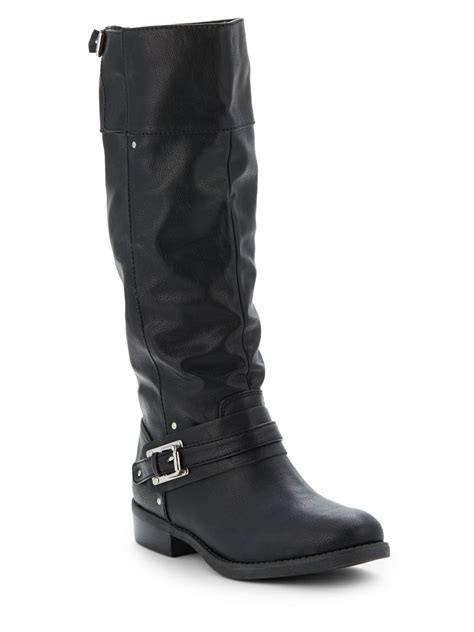 dolce vita lasso leather knee high boots in black lyst