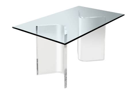 modern and acrylic table design for home interior