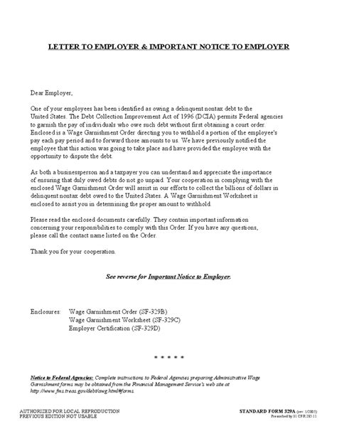 Loan Exemption Letter Garnishment Worksheet Worksheets Reviewrevitol Free