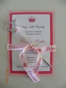 dg invites princess birthday invitations