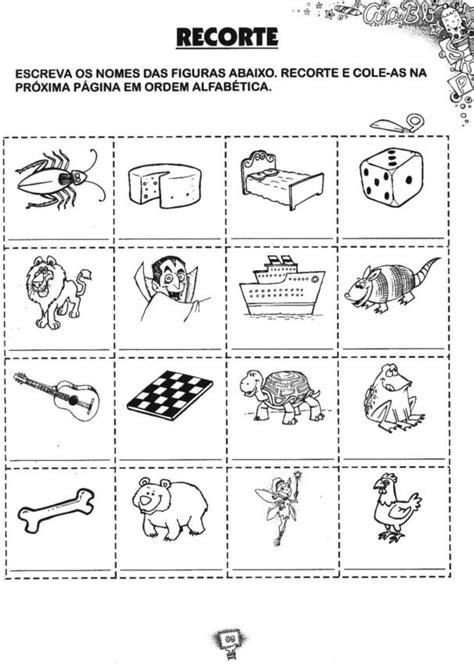 wmpalestras: Atividades de Alfabetização