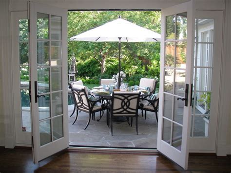 Patio Doors That Both Open What Is Best Doors That Open Out Side Or That
