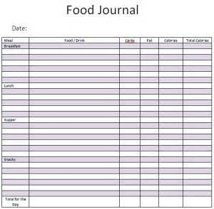 keep yourself honest food journal
