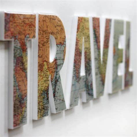 travel decor travel wall decor letters this would be perfect for the